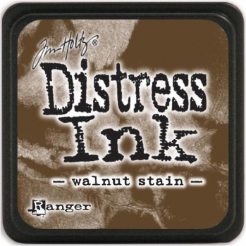 Ranger- Tim Holtz Mini Distress Ink Pad Walnut Stain