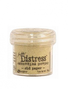 Ranger - Distress Embossing Powder - Old Paper