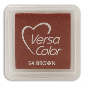 "*NEU Tsukineko - Versa Color Pigment Ink Pad Cube 1"" Brown"