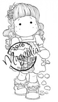 Magnolia Clingsstempel Wedding Collection Cling Stamp Flower Girl Tilda