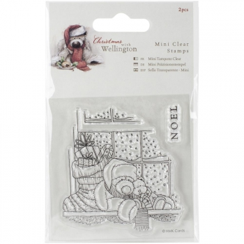 Docrafts - Wellington Christmas Mini Clear Stamp Window