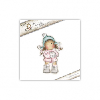 Magnolia - Sweet Christmas Dreams Cling Stamp Winter Tilda