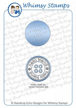 Whimsy Stamps - Stanzschablone Button Die