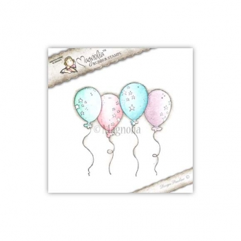 Magnolia - You Are So Special Cling Stamp Balloon Background