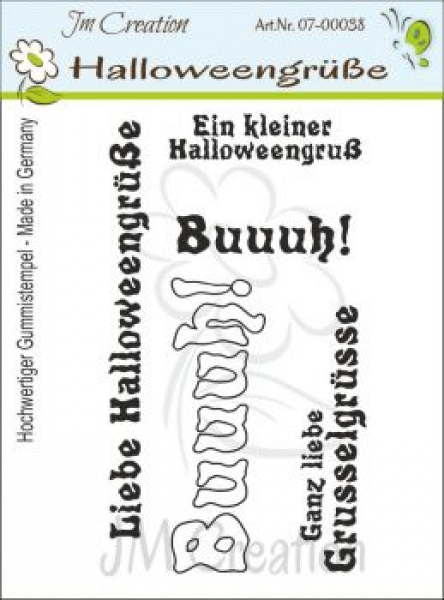JM Creation - Stempelset Halloweengrüsse