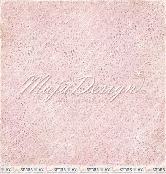 Maja Design - Scrapbookingpapier Denim & Girls Made for walking 12x12""