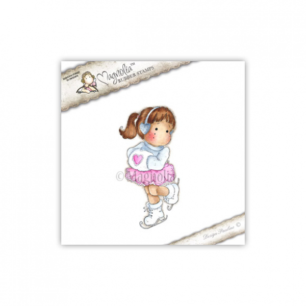 Magnolia - Sweet Christmas Dreams Cling Stamp Ice Tilda