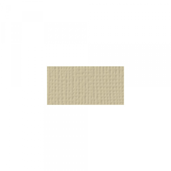 American Crafts Cardstock Canvas Sand 12x12""