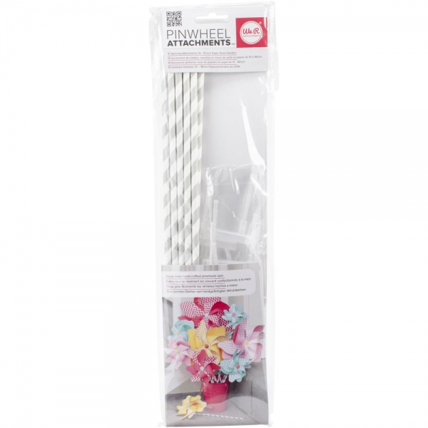 We R Memory Keepers - Pinwheel Attachments 10 Stück