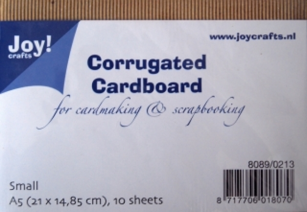 Joy! Crafts - Corrugated Cardboard A5 - 10 Stück