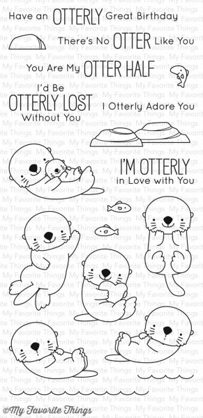 My Favorite Things - Clear Stamps Otterly Love You