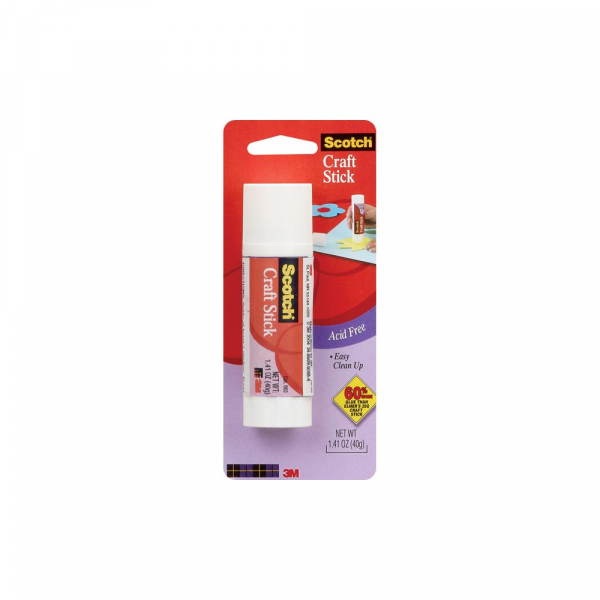 Scotch - Mega Craft Glue Stick Permanent 40g