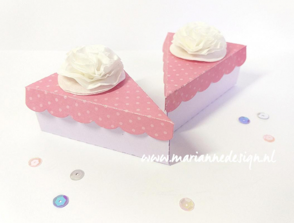 Marianne Design Stanzschablonenset Craftable Cake Die