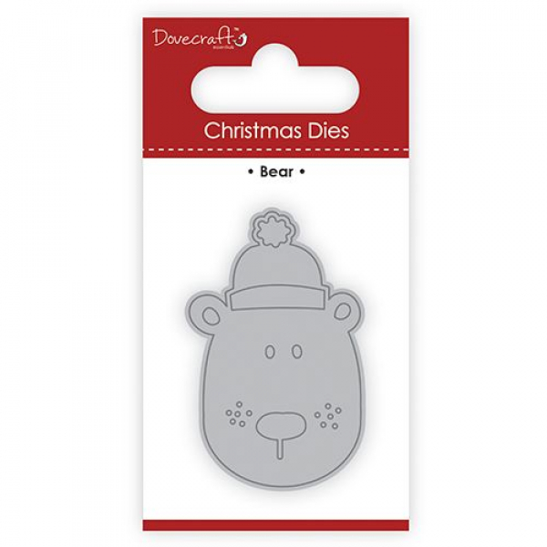 Dovecraft - Stanzschablone Christmas Bear