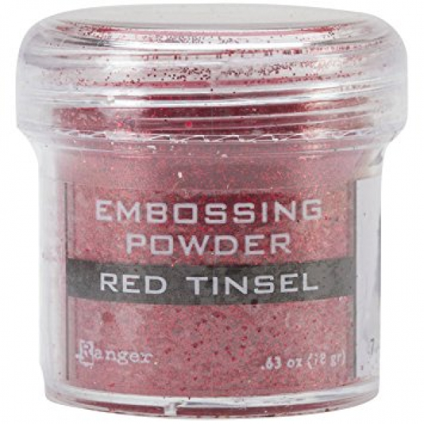 Ranger - Embossingpulver Embossing Powder Red Tinsel