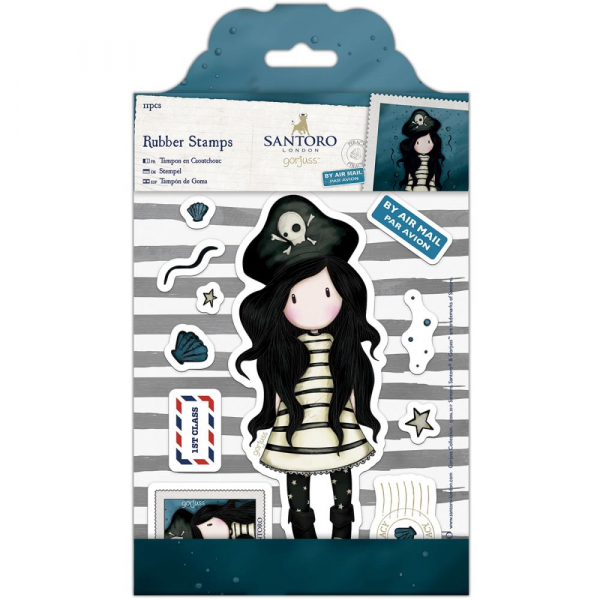 Docrafts - Santoro Gorjuss Rubber Stamps Piracy