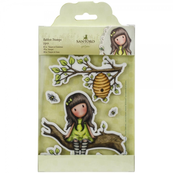 Docrafts - Clingstempel Santoro Gorjuss The Little Leaf Rubber Stamps