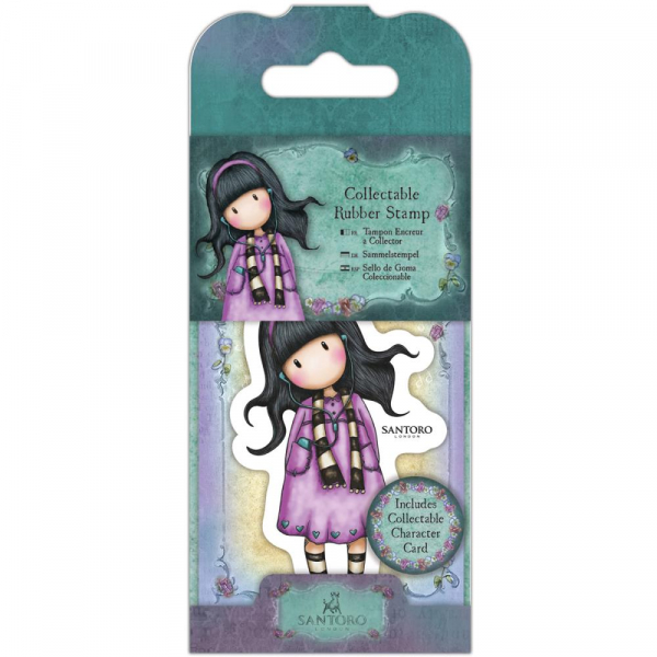 Docrafts - Santoro Gorjuss Mini Rubber Stamp Little Song