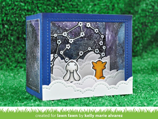 Lawn Fawn - Stanzschablone Shadow Box Card Dies