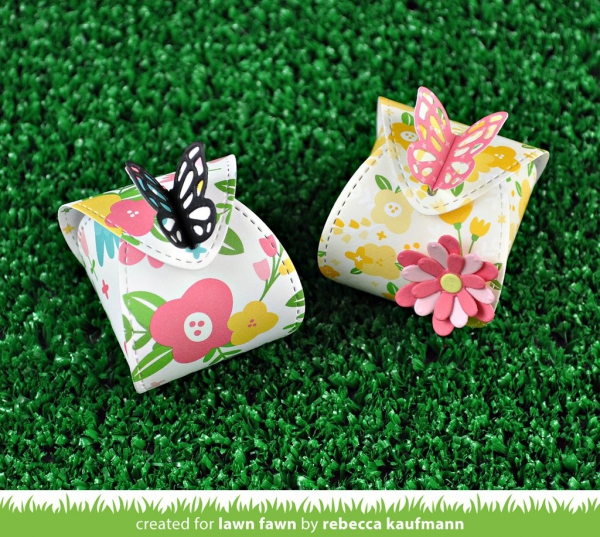 Lawn Fawn - Stanzschablonenset Butterfly Treat Box