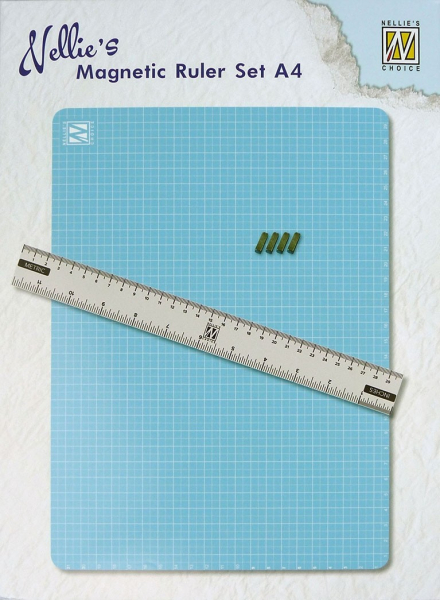 Nellie's Choice Magnetic Ruler Set A4