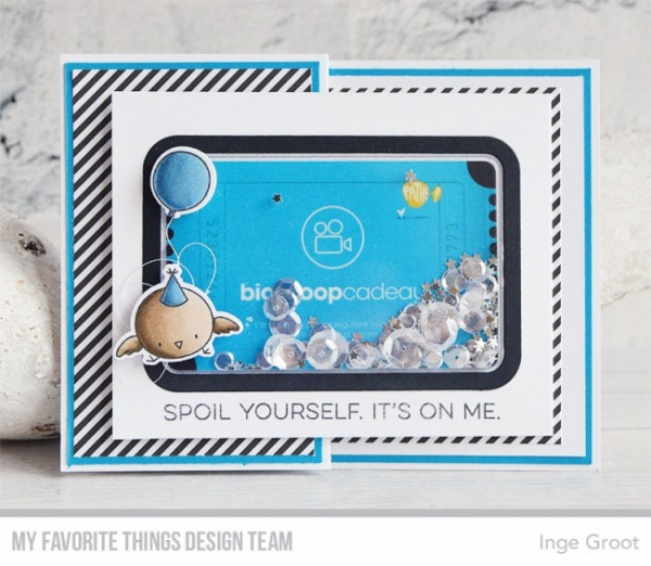 My Favorite Things - Die-namics Gift Card Window & Frame Dies inkl. 10 St. Gift Card Pouches