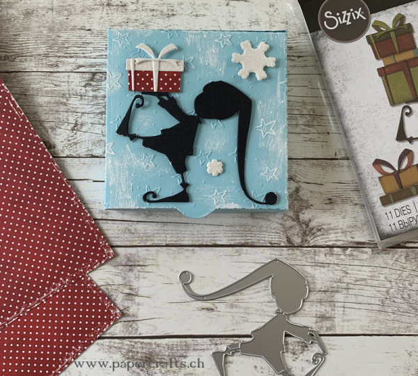 Sizzix Tim Holtz Thinlits Stanzschablonenset Santa's Helper Dies