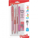 Pentel - Color Shades Writing Pack Light Pink