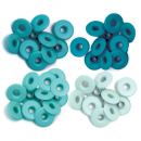 We R Memory Keepers - Wide Eyelets Aqua