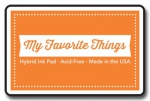 My Favorite Things - Hybrid Ink Pad Orange Zest