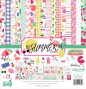 Echo Park Paper Papierkit Best Summer Ever Collection Kit 12x12""