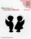 Nellie's Choice - Clearstempelset Angel girl and boy