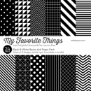My Favorite Things - Black & White Basics Paper Pack 6x6""