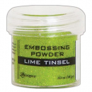 Ranger - Embossingpulver Lime Tinsel Embossing Powder