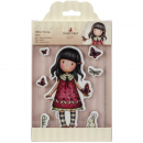 Docrafts - Clingstempelset Santoro Gorjuss Time To Fly Rubber Stamp
