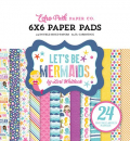 Echo Park Paper - Papierblock Let's Be Mermaids 6x6""