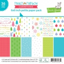 "Lawn Fawn - Papierblock Really Rainbow Christmas Petite Paper Pack 6x6"" PRE-ORDER (Lieferbar ab 26.09.2018)"