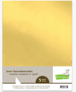 Lawn Fawn Goldpapier Metallic Cardstock gold A4