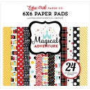 "Echo Park Paper - Magical Adventure Paper Pad 6x6"" 24 Blatt"