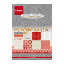 Marianne Design - Papierblock Swedish Winter