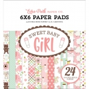 Echo Park Paper - Sweet Baby Girl Paper Pad 6x6