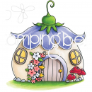 Stamping Bella - Clingstempel Little Bits Fairy House
